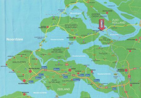 Zeeland map