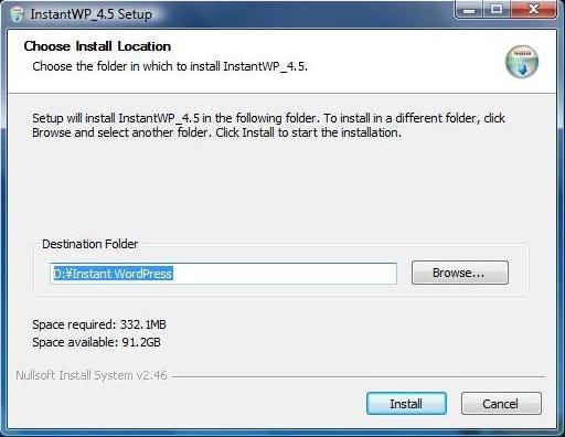 instantwp-installation
