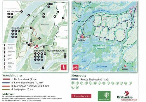biesbosch-wandelroutes